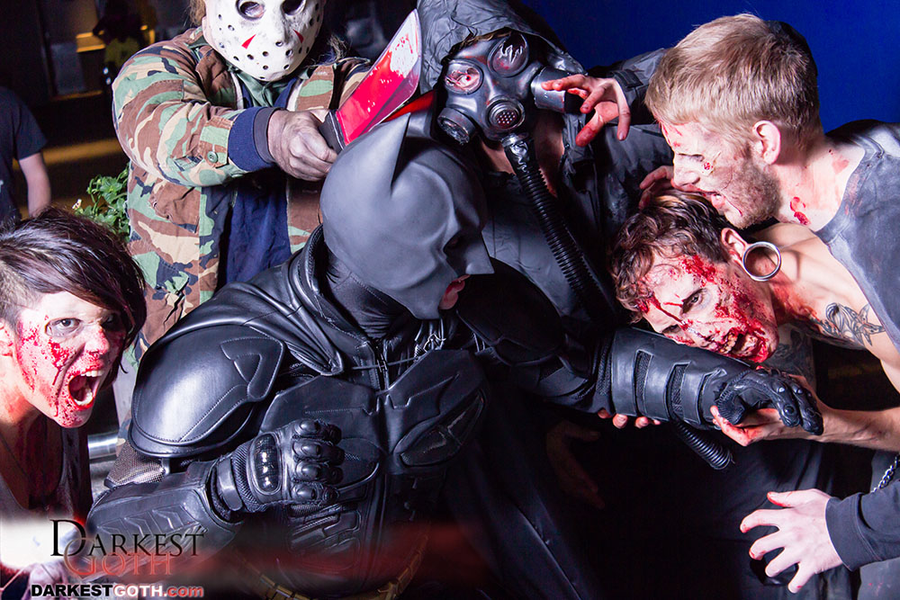 We return to Batman, who continues to fight the zombies!