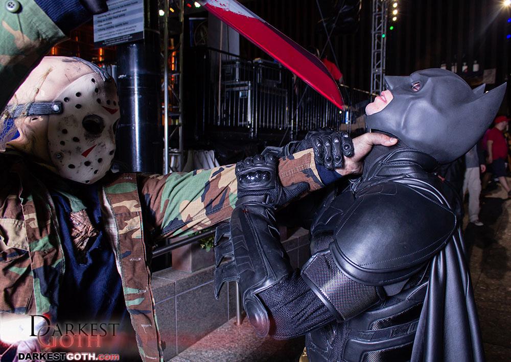 When hordes of dead threaten even Batman. Who do you call?