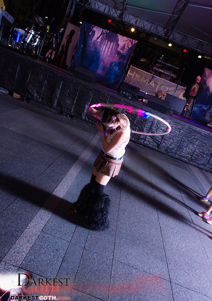 Elixir theEnigma's dancing was haunting and beautiful!