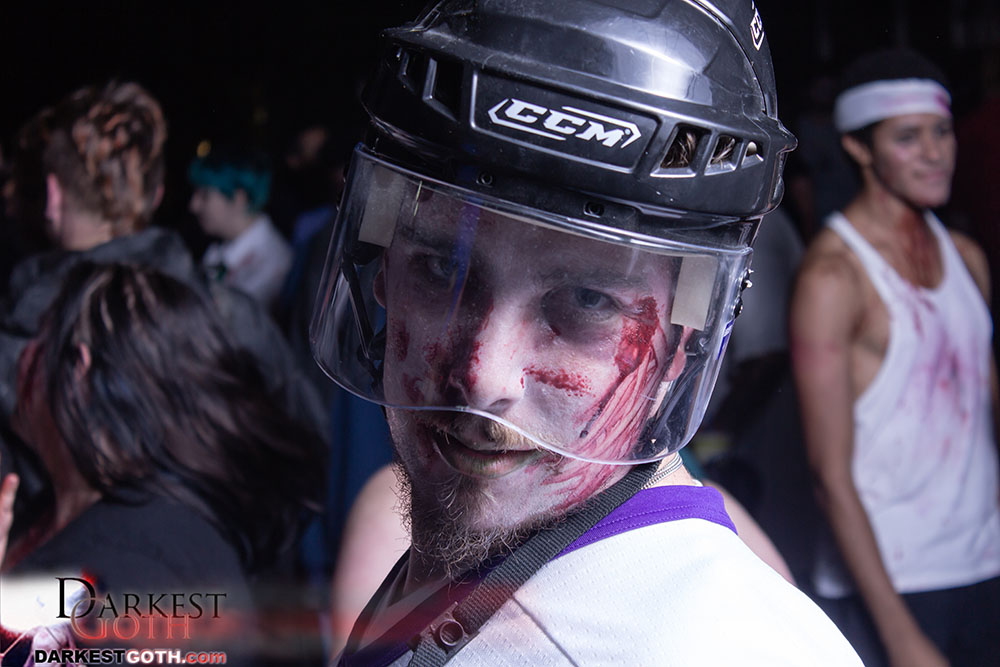 ...or simply going to the most logical zombie job: Pro Hockey Player!