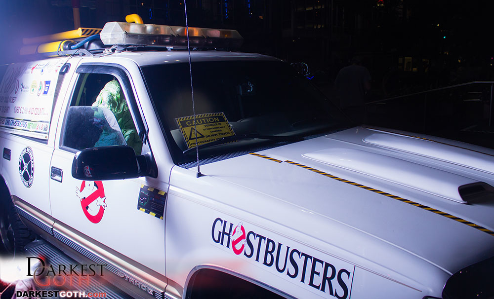 That's right. The Ghostbusters! Because...REASONS!!