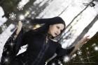 Plam Chelavrova: Dark Angel in the Snowy Forest [GALLERY]