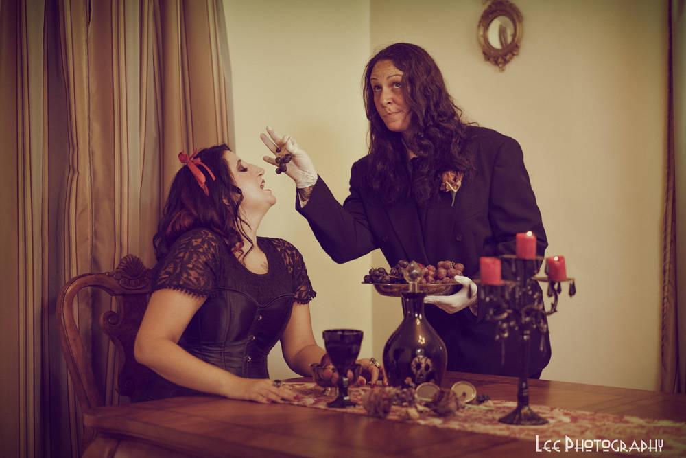 Posh Goth Dinner Party 2