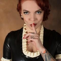 Jill Valentine: Maid Valentine [GALLERY]