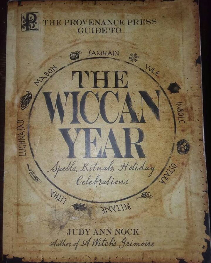 The Wiccan Year by Judy Ann Nock