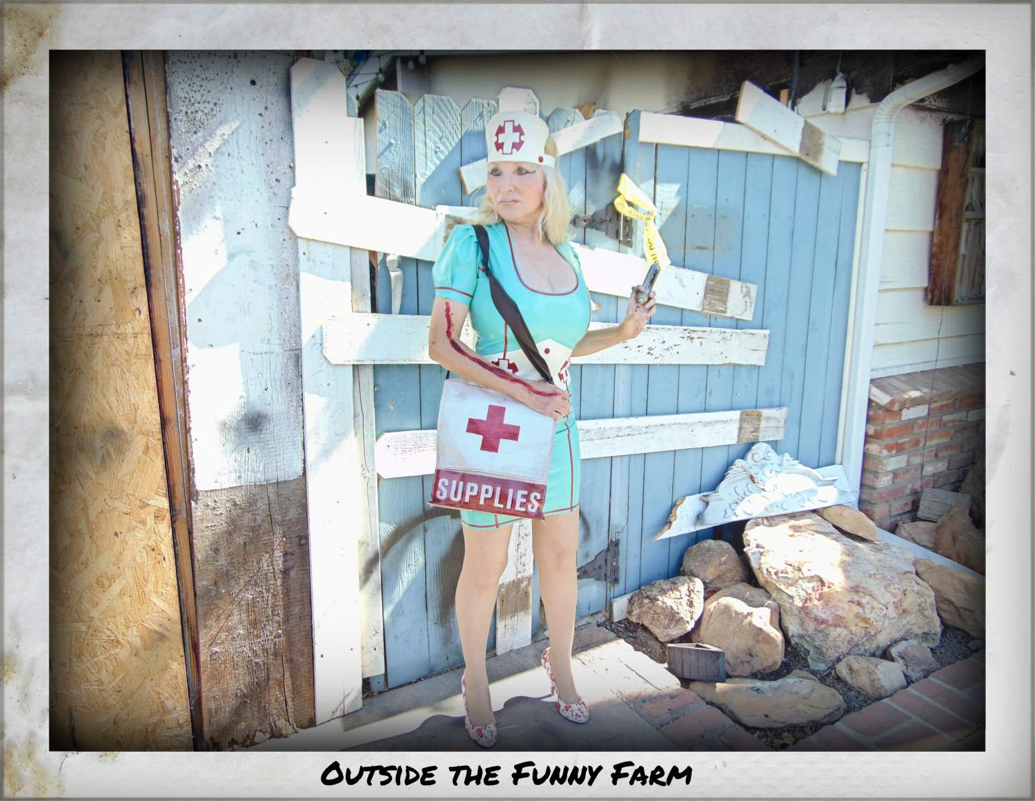 Outside the Funny Farm