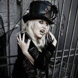 Karen St. Claire: THE BLACK WIDOW on Murda Row [SPOKESMODEL GALLERY]